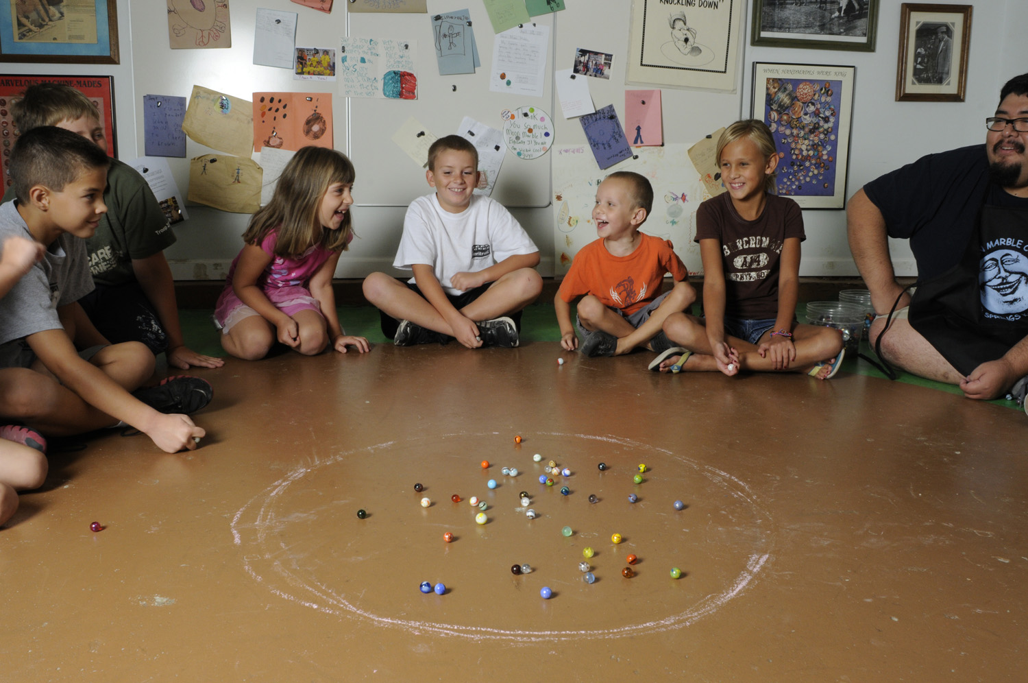 Simple Marbles Games