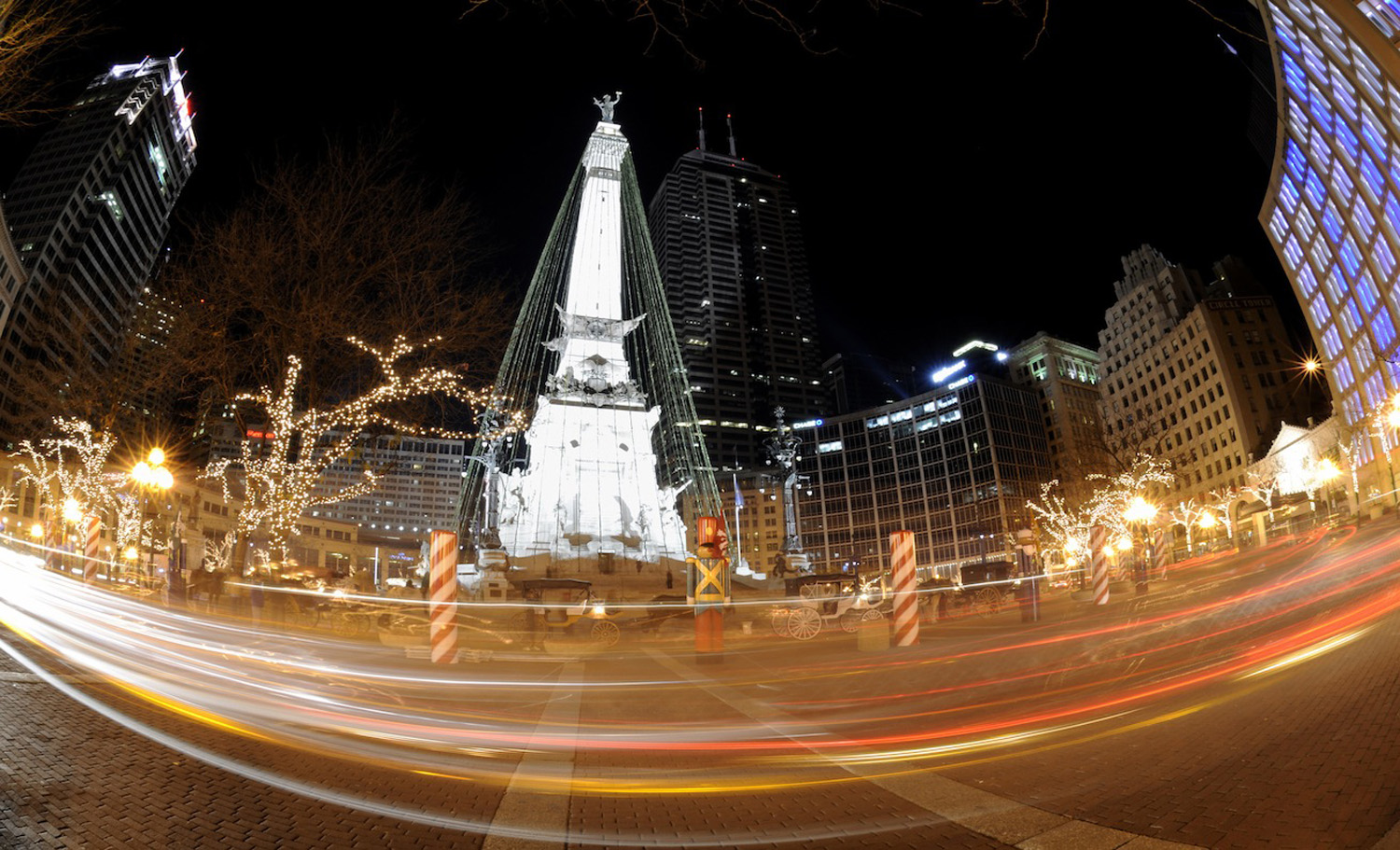 Christmas Lights In Indianapolis