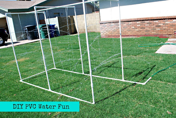 PVC Water Obstacle Course | AmericanProfile.com