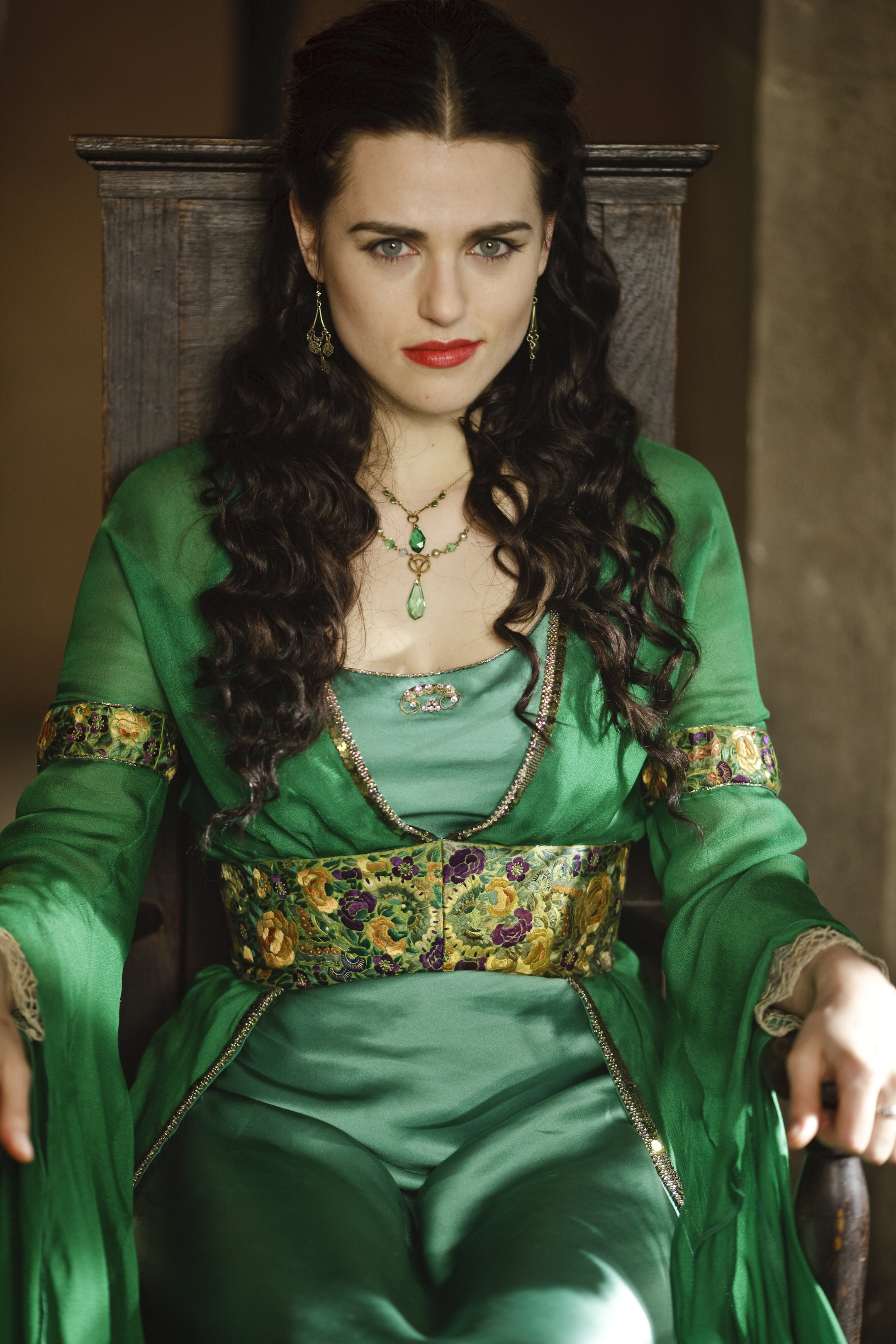 Merlin\' Star Katie McGrath - American Profile
