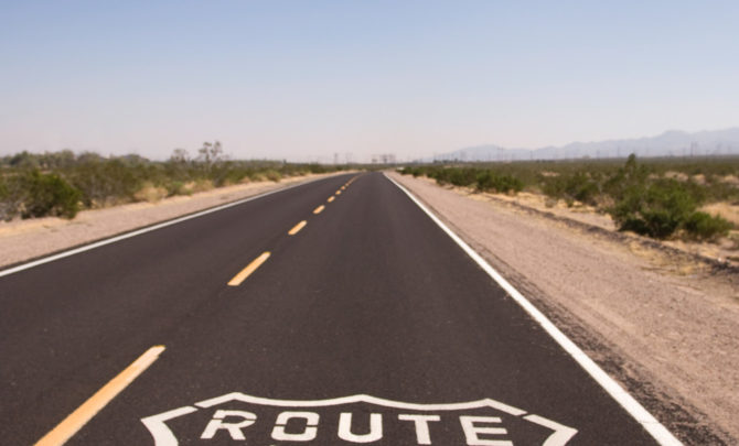 a-route-66-sign