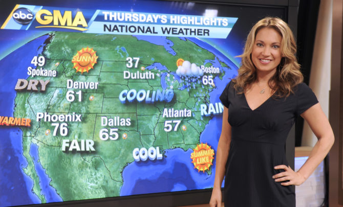 Why Gma Weatherman Ginger Zee Became A Meteorologist -3166